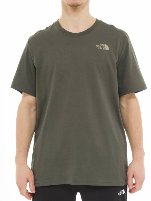 The North Face T-Shirt North Face Red Box grün