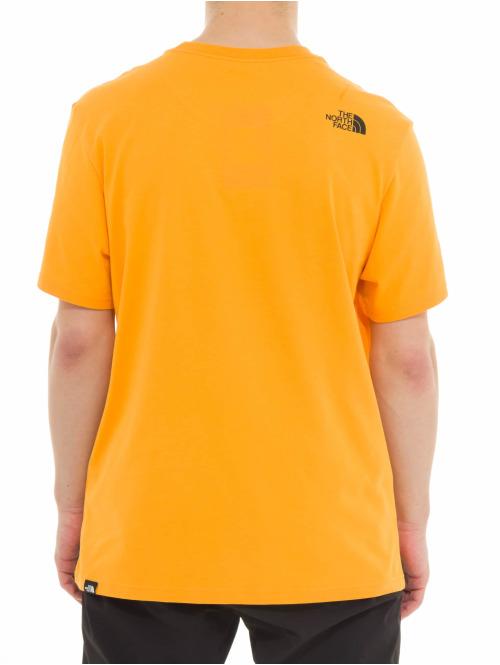 The North Face T-Shirt M Fine orange