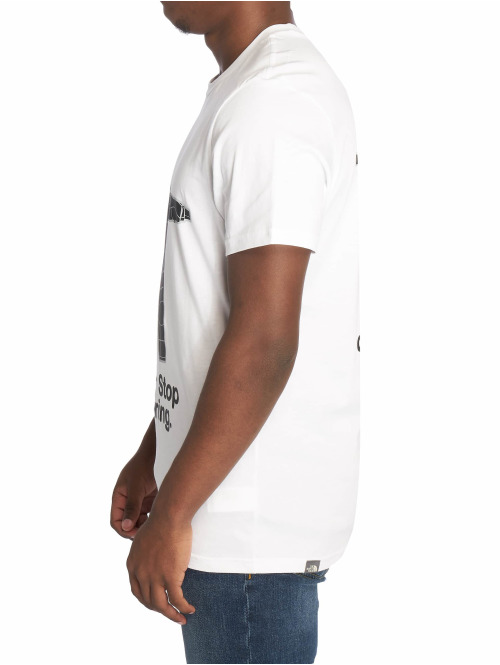 The North Face T-Shirt Nse Series weiß
