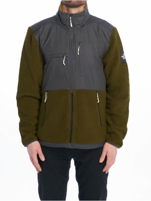 The North Face Übergangsjacke M Denali Flc grün