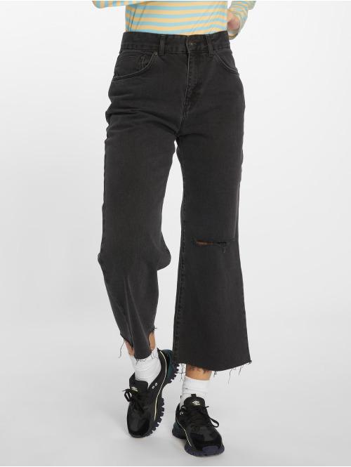 The Ragged Priest High Waist Jeans Graze Butt Cut grau