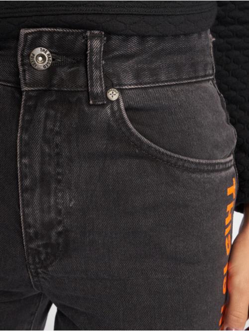 The Ragged Priest High Waist Jeans Melody Printed schwarz