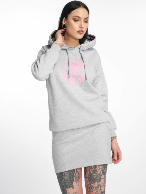 Thug Life Dress  Beyon Dress Grey Melange...