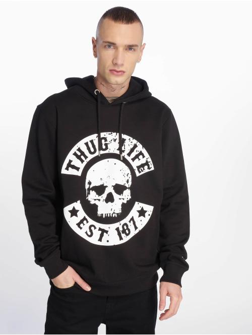 Thug Life Hoody B.Distress schwarz