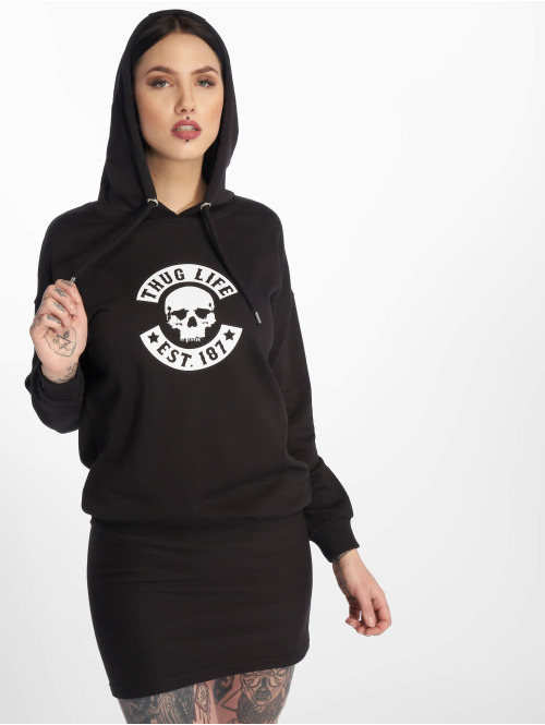Thug Life Kleid  Eve Dress Black/White...