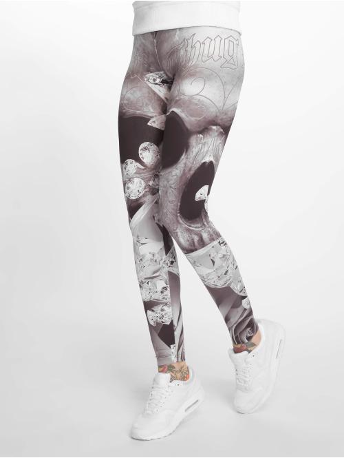 Thug Life Legging/Tregging  Monroses Leggings Grey...