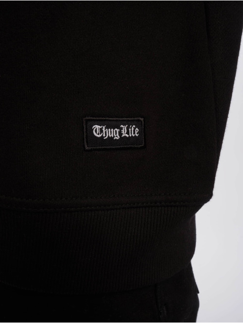 Thug Life Pullover Hurn schwarz