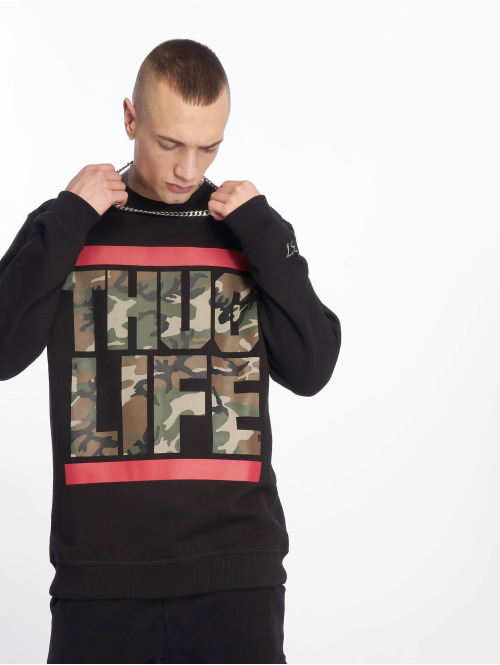 Thug Life Sweat & Pull  B.Fight Sweatshirt Black...