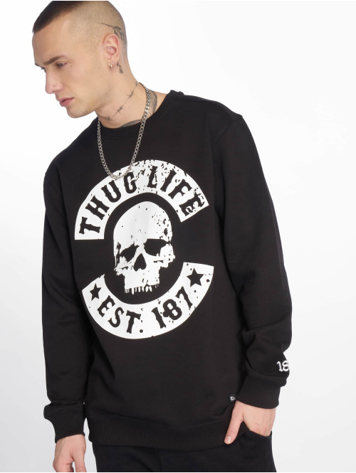 Thug Life Sweat & Pull  Kuza Crewneck Black...