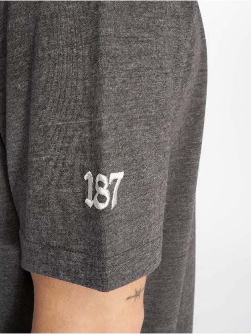 Thug Life T-Shirt Prinz grau