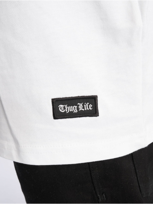 Thug Life T-Shirt Prinz weiß