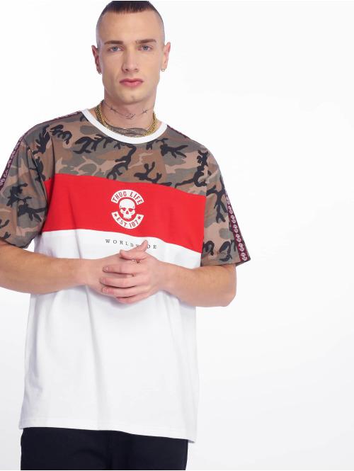 Thug Life t-shirt  Delux T-Shirt White...