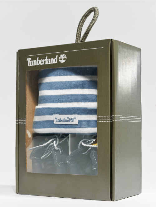 Timberland Boots Crib Booties With Hat blau