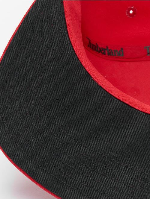 Timberland Snapback Cap Flat Brim Baseball Cap rot
