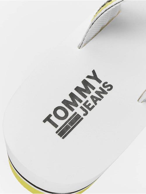 Tommy Jeans Sandalen Pop Webbing Mid Beach weiß