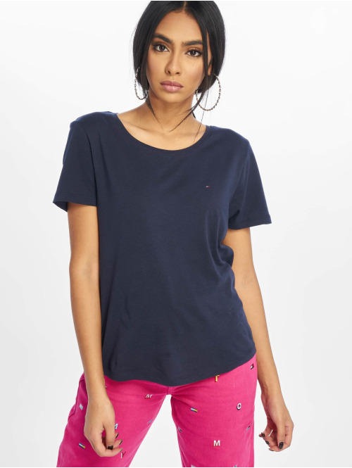 Tommy Jeans T-Shirt Soft Jersey blau