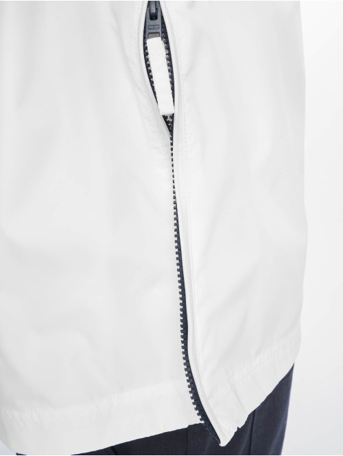 Tommy Jeans Übergangsjacke Nylon Shell Solid Popover weiß