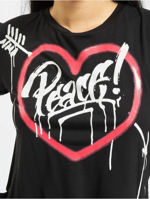 trueprodigy T-Shirt Peace And Harmony schwarz