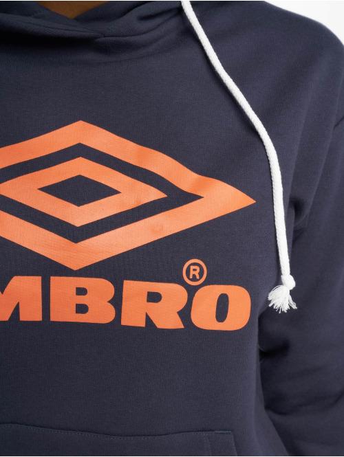 Umbro Hoody Logo blau