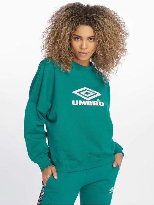 Umbro Pullover Logo grün