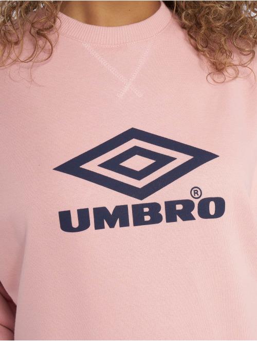 Umbro Pullover Logo rosa