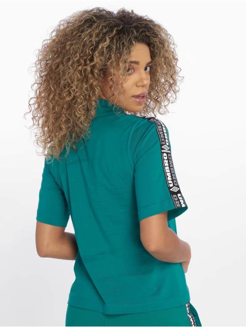 Umbro T-Shirt High Neck grün