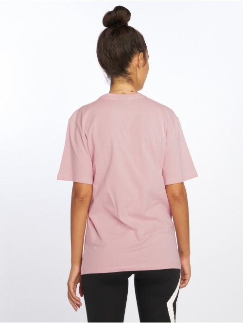 Umbro T-Shirt Boyfriend Fit Logo rosa