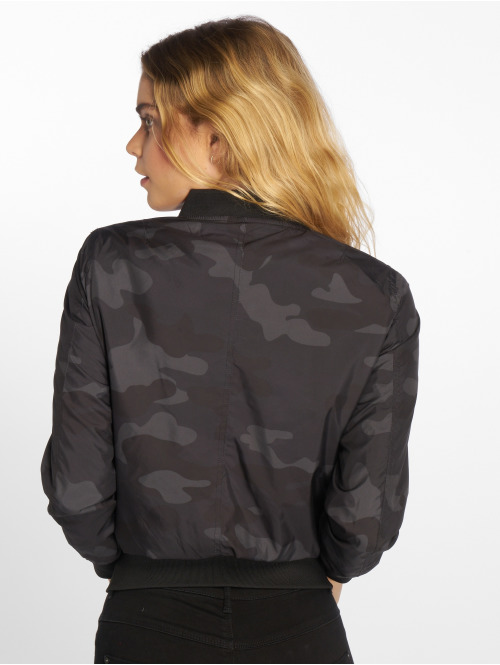 Urban Classics Bomberjacke Ladies Light camouflage
