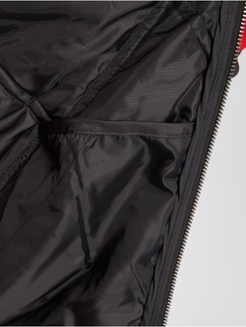 Urban Classics Bomberjacke Big Diamond Quilt schwarz