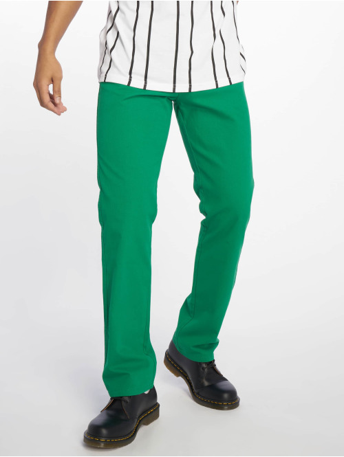 Urban Classics Chino 5 Pocket grün
