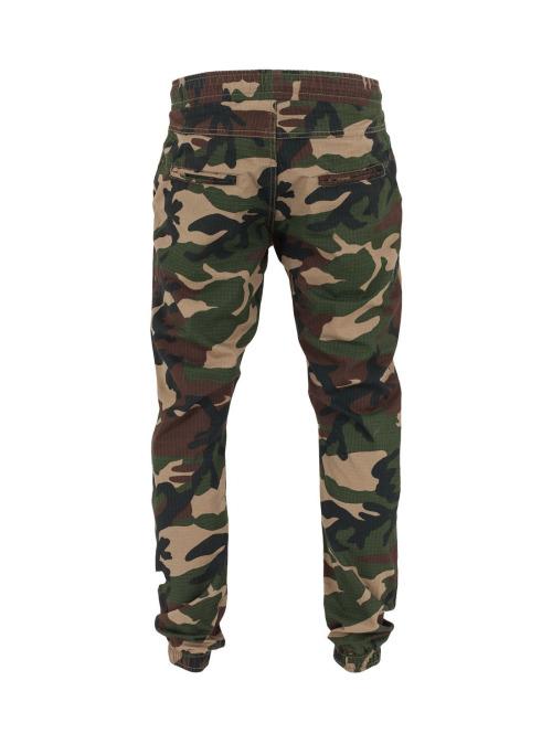 Urban Classics Jogginghose Camo Ripstop camouflage