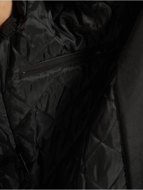 Urban Classics Mantel Asymetric schwarz