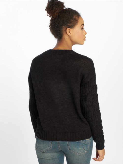 Vero Moda Pullover vmAlpine Knit schwarz