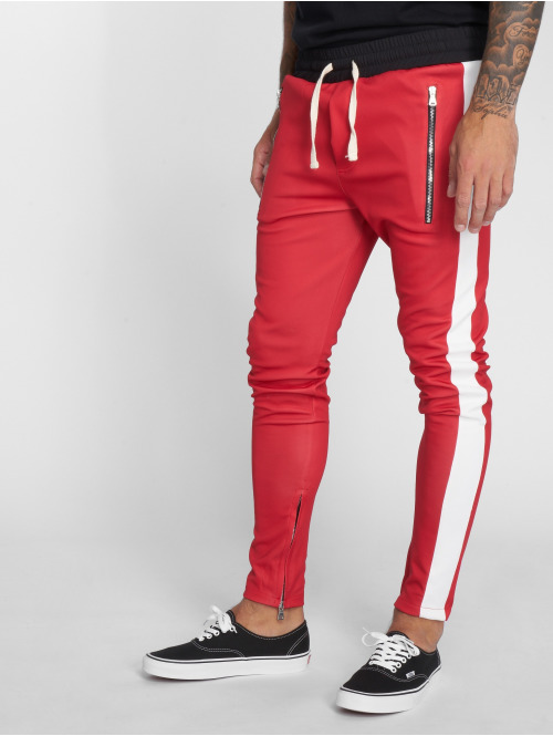 VSCT Clubwear Jogginghose Stripe with Zip Pocket rot