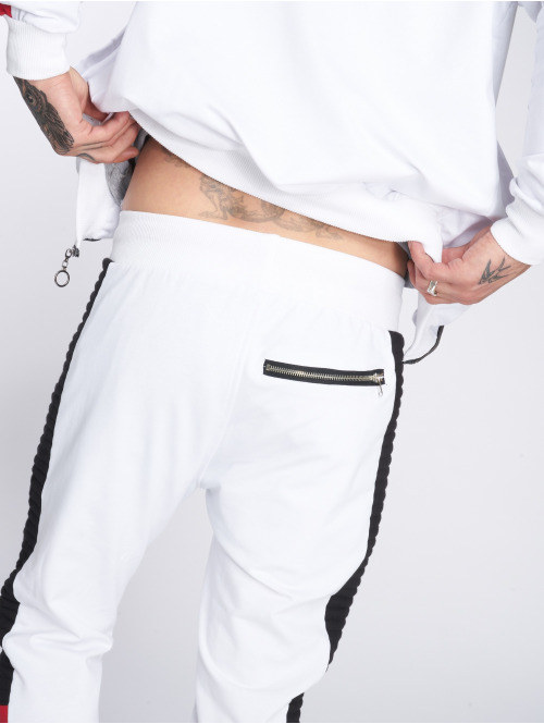 VSCT Clubwear Jogginghose Biker weiß