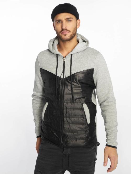 VSCT Clubwear Übergangsjacke 2 Colour Amour Mix Fabric grau
