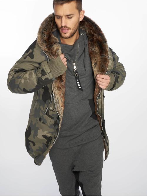 VSCT Clubwear winterjas Double-Zipper Huge Luxury camouflage