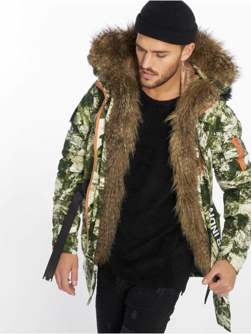 VSCT Clubwear winterjas 2 Face Woodland Camo camouflage