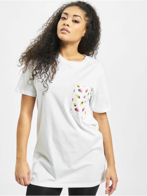 Weebit T-Shirt Fish Pocket weiß
