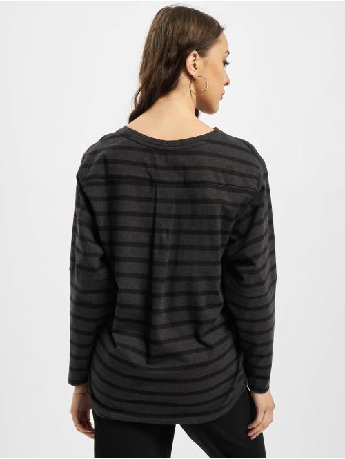 Wemoto Pullover Brighton Stripe schwarz