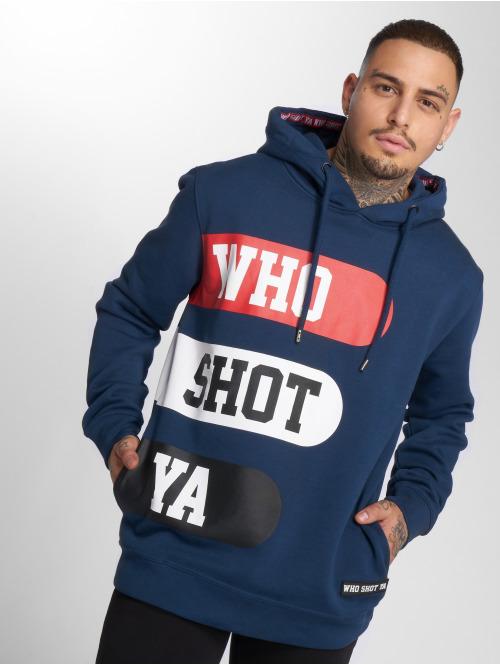 Who Shot Ya? Hoody Boss Choonz blau