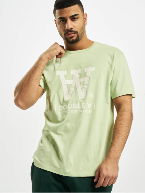 Wood Wood T-Shirt Ace grün
