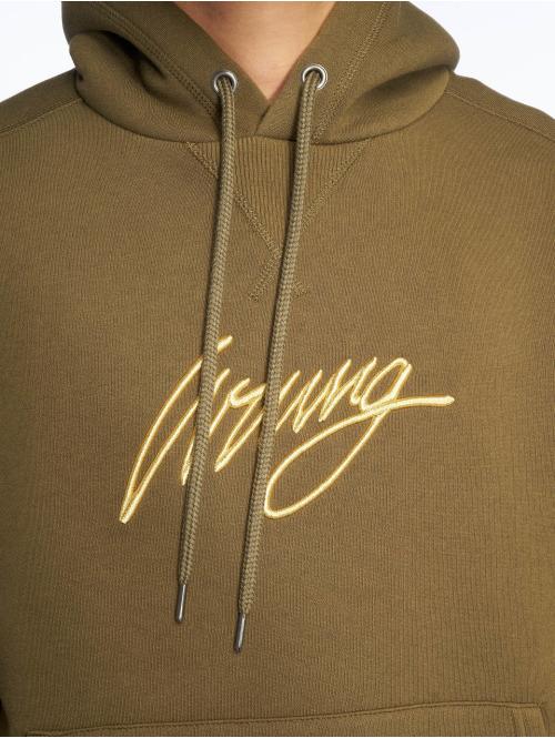 Wrung Division Hoody Sign khaki