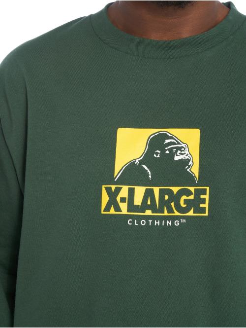 X-Large Longsleeve Cutout Og grün