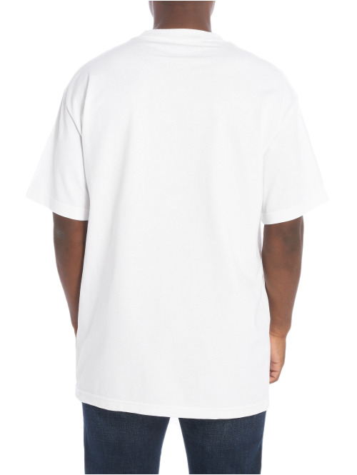 X-Large T-Shirt Drop In weiß