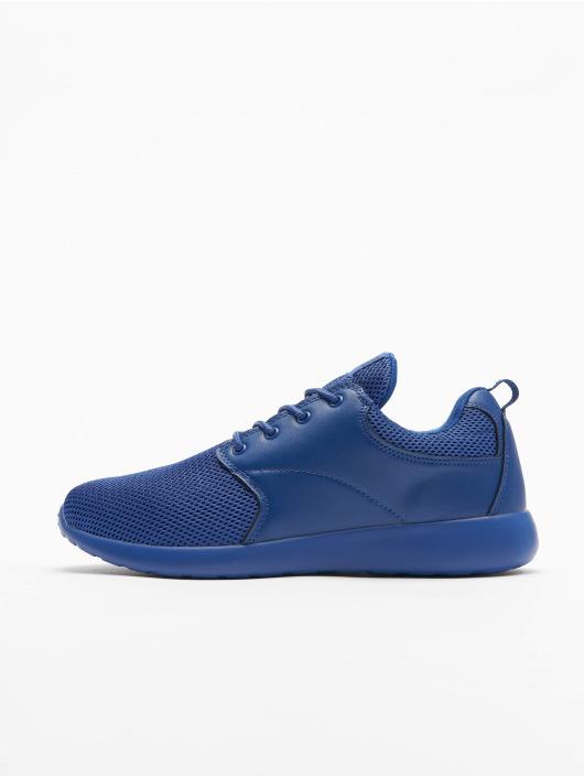 Damen Urban Classics Männer Frauen Sneaker Light Runner blau | 4053838107768