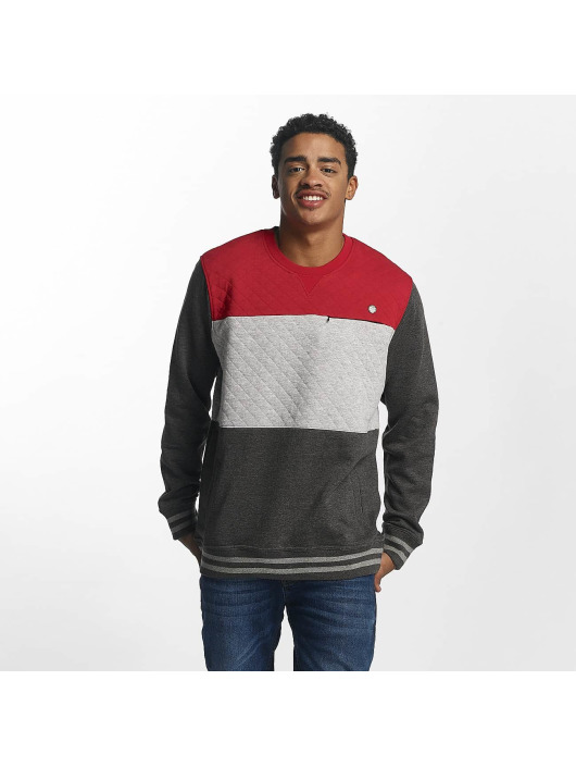 Herren Just Rhyse Männer Pullover Marble Place rot | 4056189277777