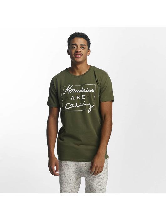 Herren Just Rhyse Männer T-Shirt Kasaan olive,grün | 4059753121278