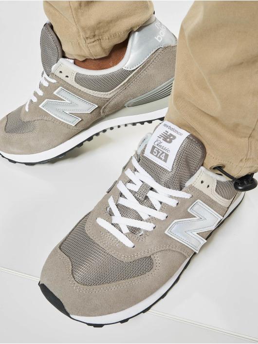 Herren New Balance Männer Sneaker ML574 D EGN grau | 739655800597