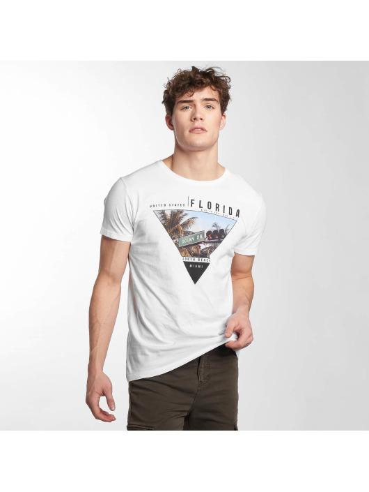 Herren Sublevel Männer T-Shirt South Beach weiß | 4058427424783